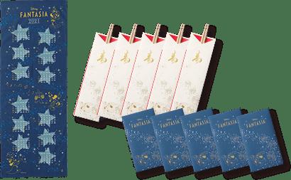 記念アートならではの【カレンダー手ぬぐい】と、祝い箸、ポチ袋付き!