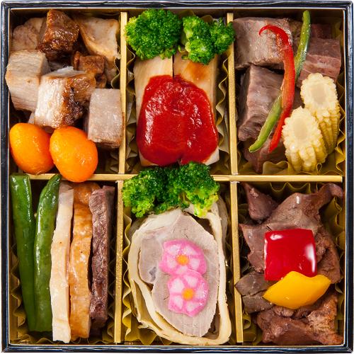 コミフデリお肉のおせち料理