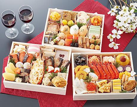 北海道「花びし」和洋三段重「絢華」
