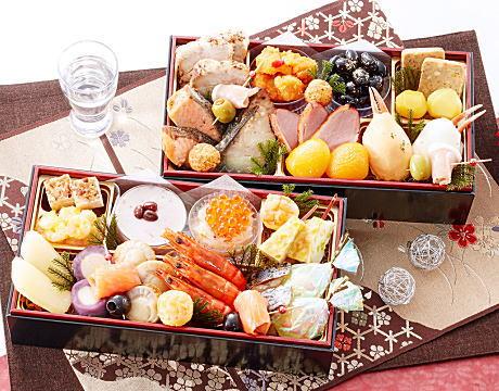 北海道「花びし」和洋二段重「絢珠」