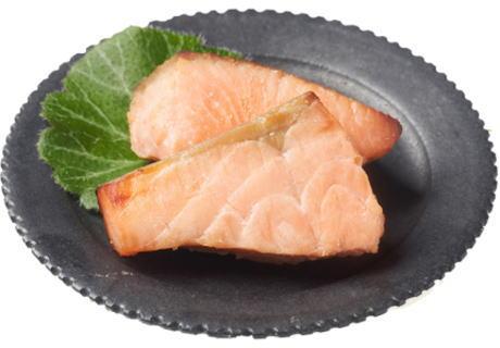 銀鮭西京焼