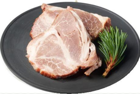 亜麻仁豚の塩焼豚