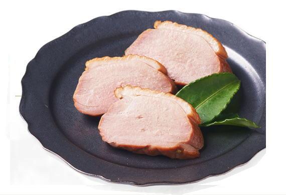 合鴨肉のアップルスモーク