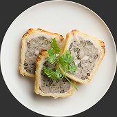 レンズ豆と塩豚のパテ・アンクルー