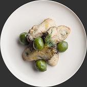 広島県産牡蠣のローズマリーのマリネ