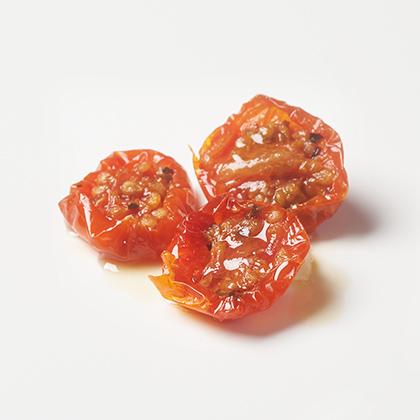 チェリートマトのハーブオイル漬